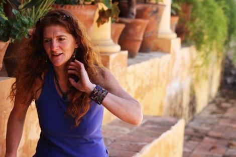 Conversando con Gabriela Ottogalli en La Casa de la Enseñanza de San Cristóbal de las Casas